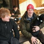 Daniel, Bengt, Joakim och Loke tar en paus