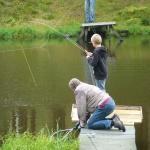 Mycket duktig flugfiskare