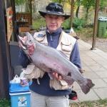Karl-Olof med 5,79 kg regnbåge