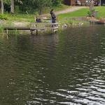 Inte bara killar som fiskar ...