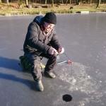 Bra spöböj på isfiskespöt.