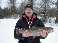Isfiske i Tollerup 090221