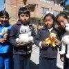 Tack till Pia, Frida och Philippa för nalleinsamlingen! Barnen vart mycket glada!