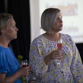 AMB Vara, Rektor Anna Sjögren & Mariah Lundell