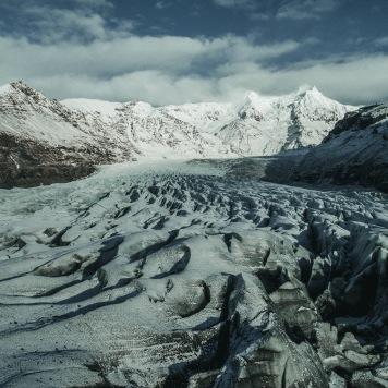 Svnafellsjökull , Island