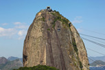 Cable cars at the Sugarloaf Mountain, Rio de Janeiro