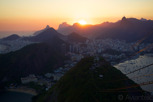 Sunset view from Sugarloaf Mountain, Rio de Janeiro
