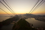 Sunset as seen from Sugarloaf Mountain, Rio de Janeiro