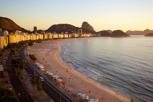 Copa Cabana during sunrise, Rio de Janeiro