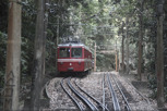 The Corcovado tram, Rio de Janeiro