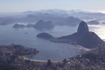 Sugarloaf Mountain as seen from Corcovado, Rio de Janeiro