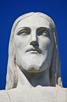 Closeup of Christ Redeemer, Rio de Janeiro