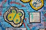 Street art in the favelas, Rio de Janeiro