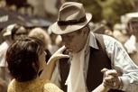 Tango at Plaza Dorrego, Buenos Aires