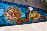 Street art at La Boca, Buenos Aires