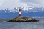 The lighthouse in Beagle Channel, Ushuaia
