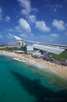 On final approach over Maho Beach to Princess Juliana Airport, Sint Maarten