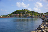 Fort Louis and Concordia Hill at Marigot, Saint Martin