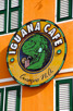 Iguana Café at Willemstad, Curacao