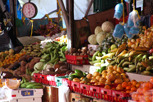 Local market at Willemstad, Curacao