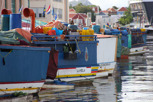 Venezuelan boats at Willemstad, Curacao