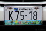Licence plate, Curacao