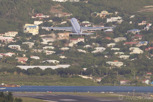 Air France Airbus A340-300 departs Princess Juliana Airport, Sint Maarten