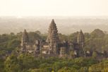Angkor Wat as seen from Phnom Bakheng, Siem Reap