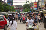 The lively Pub Street, Siem Reap