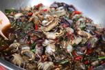Crab delicacies, Phnom Penh