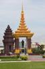 Monuments along Preah Norodom Boulevard, Phnom Penh