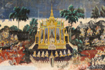 Murals at the Royal Palace, Phnom Penh