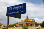 Preah Sisowath Quay with the Dancing Pavilion, Phnom Penh