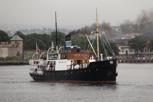The old steam boat Børøysund, Oslo