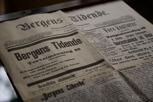 Old newspaper Bergens Tidende, Bergen