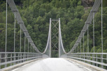 Old style fjord bridge at Hardanger