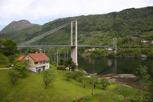 Beautiful landscape at Hardanger