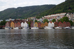 The UNESCO World Heritage site of Bryggen, Bergen