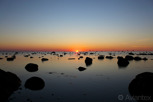 Sunset over the Baltic Sea, Gotland