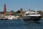 Harbor view of Helsingborg