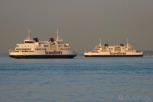 Scandlines ferries between Helsingborg and Elsinore