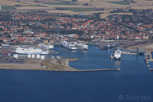 Ferries at Trelleborg harbor