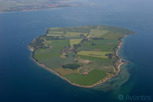 The island of Ven in the middle of Öresund