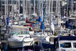 Leisure boats at the marina, Helsingborg