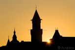 The Town Hall at sunrise, Helsingborg