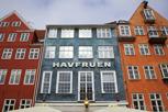 Havfruen restaurant at Nyhavn, Copenhagen