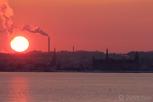 Sunset over Kronborg Castle, Elsinore