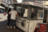 Hot dog cart, Elsinore
