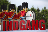 Main entrance Legoland, Billund