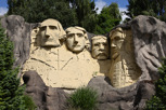 Mount Rushmore at Legoland, Billund